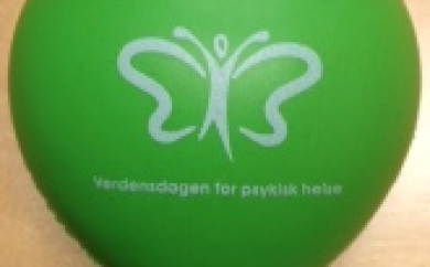 Symbol, verdensdagen for psykisk helse