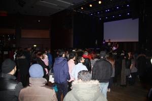 Forventningsfullt publikum på VAD-festivalen